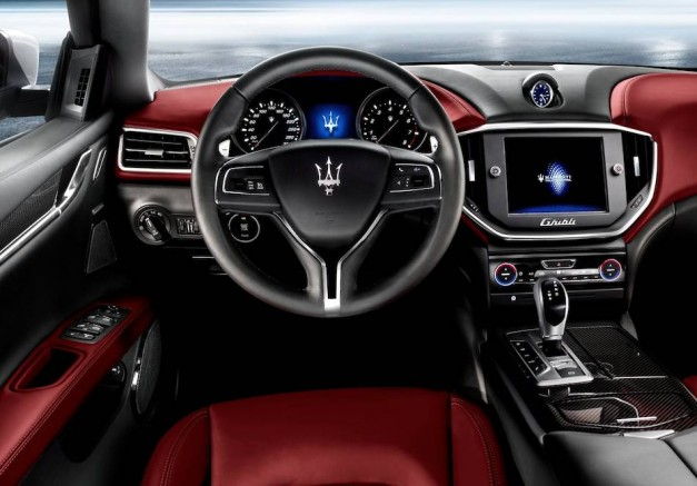 2014 Maserati Ghibli Sedan Interior