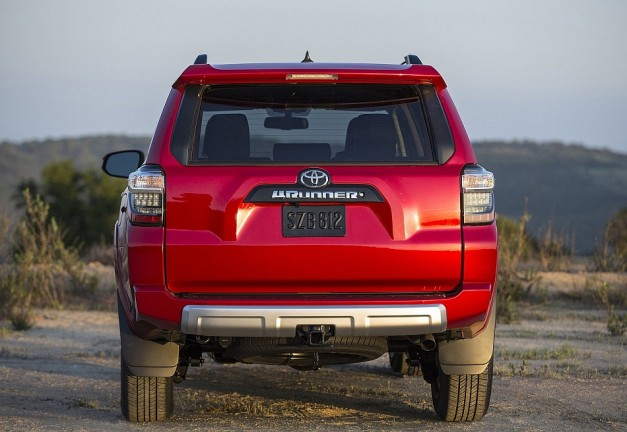 2014 Toyota 4Runner Rear