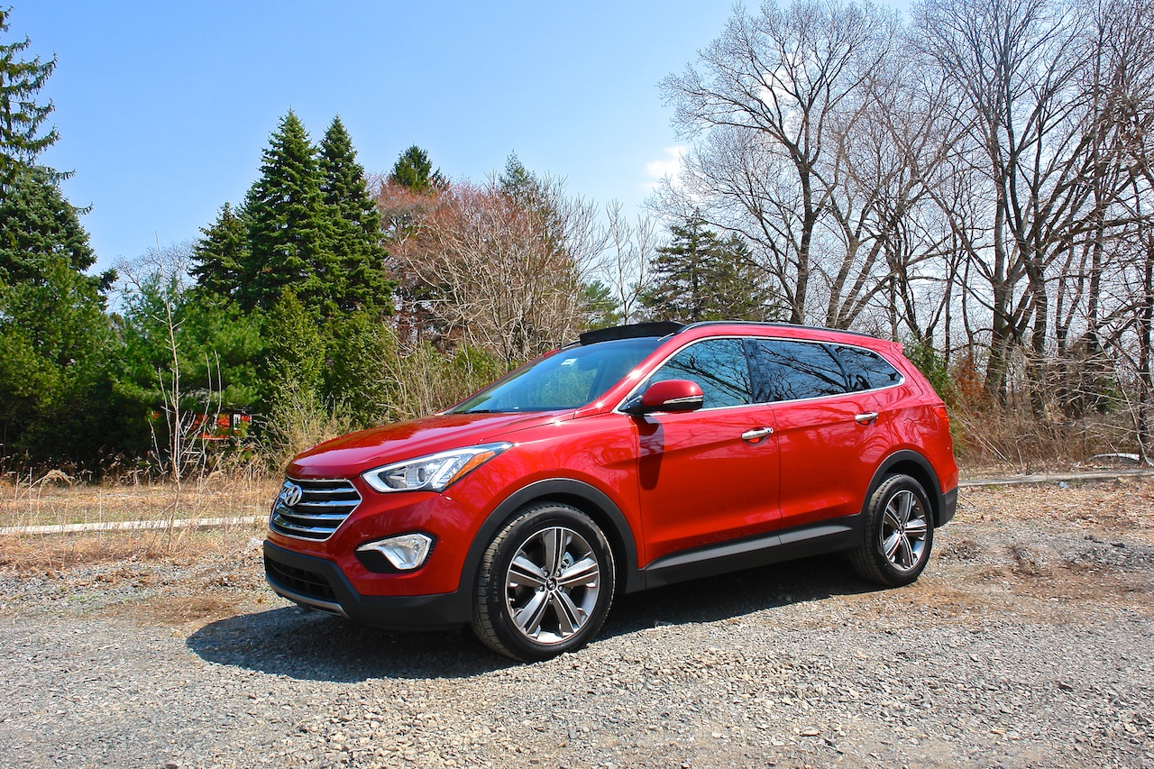 First Review - 2013 Hyundai Santa Fe Limited AWD Front 7-8 Left