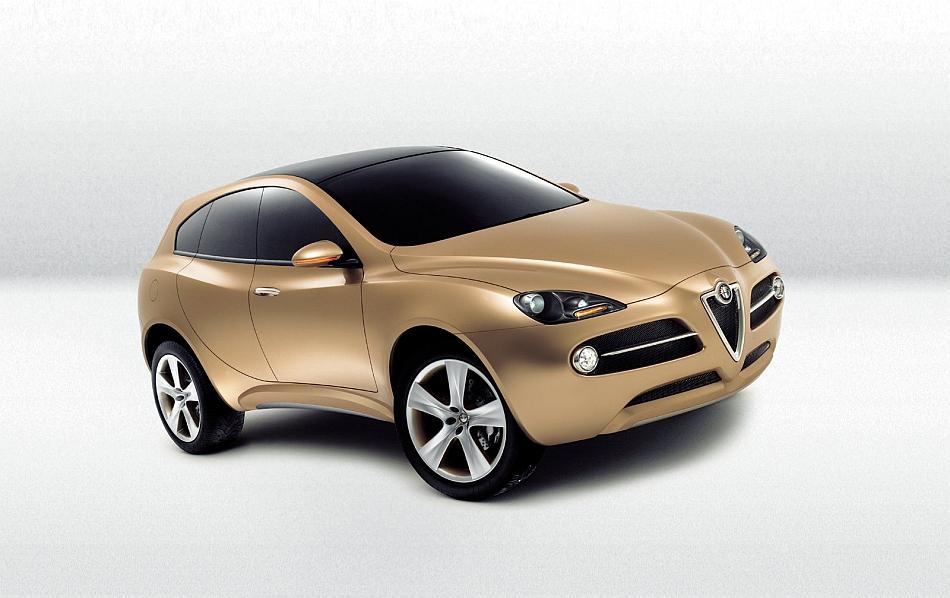 2003 Alfa Romeo Kamal SUV Concept