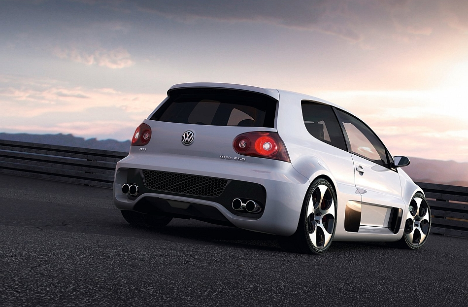 2007 Volkswagen Golf GTI W12-650 Concept