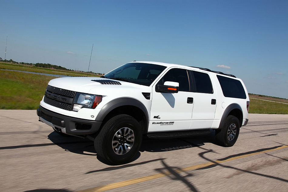 2013 hennessey performance ford velociraptor suv front 3 4 left egmcartech. Black Bedroom Furniture Sets. Home Design Ideas