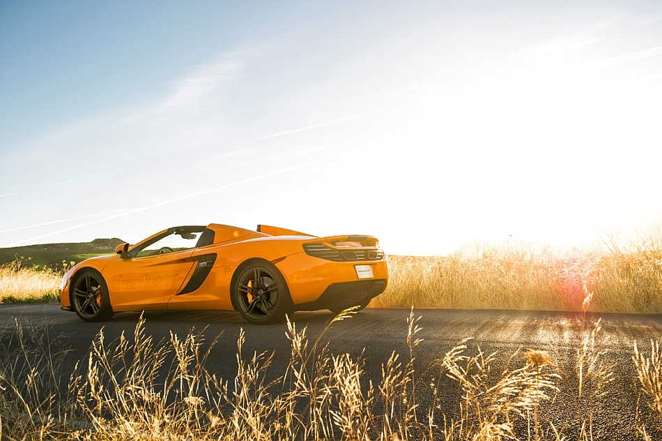 2013 McLaren 50 MP4-12C Spider Rear