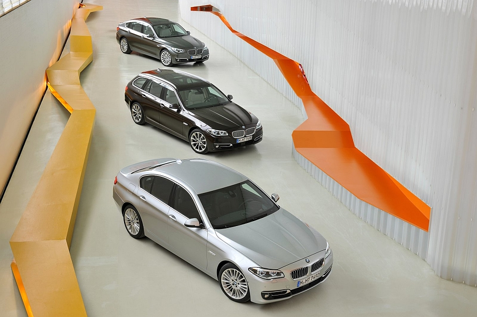 2014 BMW 5-Series Line