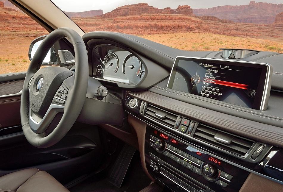2014 bmw x5 interior dashboard egmcartech for Inside l interieur