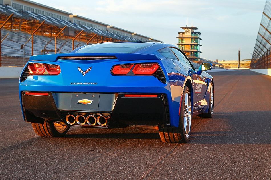 2014 Chevrolet Corvette Stingray Indianapolis 500 Pace Car Rear