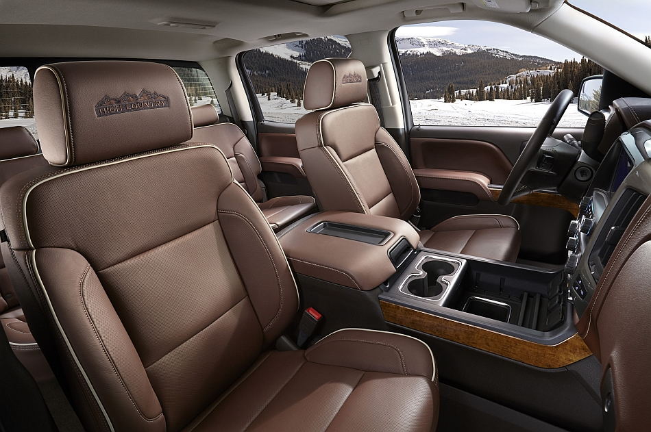 2014 Chevrolet Silverado Texas Edition Interior Front