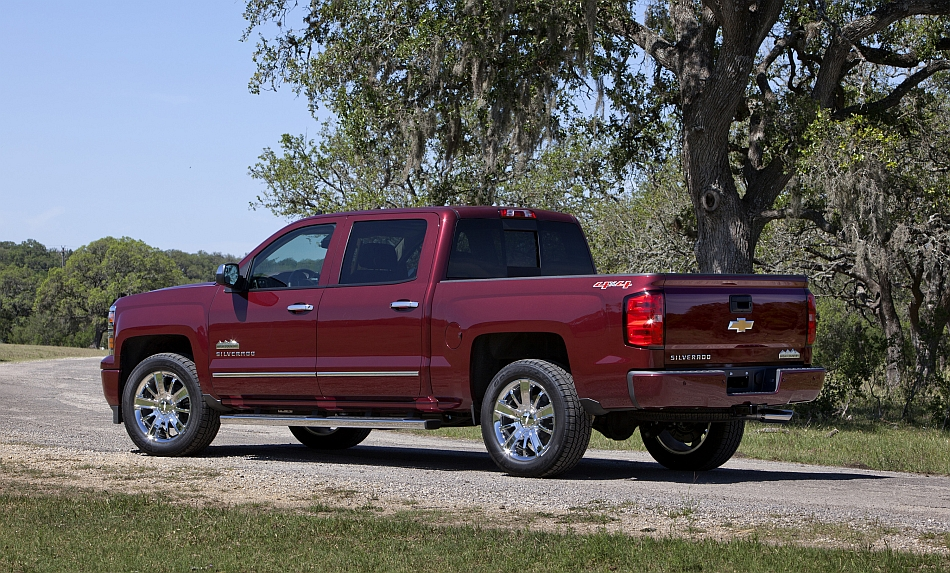 2014 Chevrolet Silverado Texas Edition Rear 3-4 Left