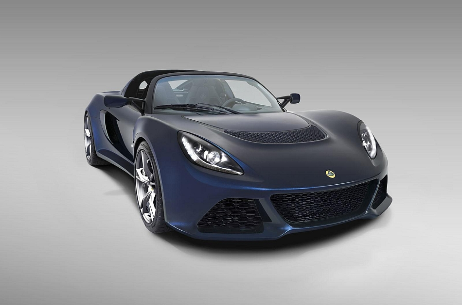 2014 Lotus Exige S V6 Front 3-4 Right