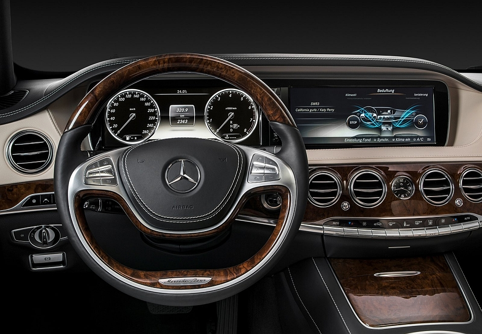 2014 Mercedes-Benz S-Class Driver Seat