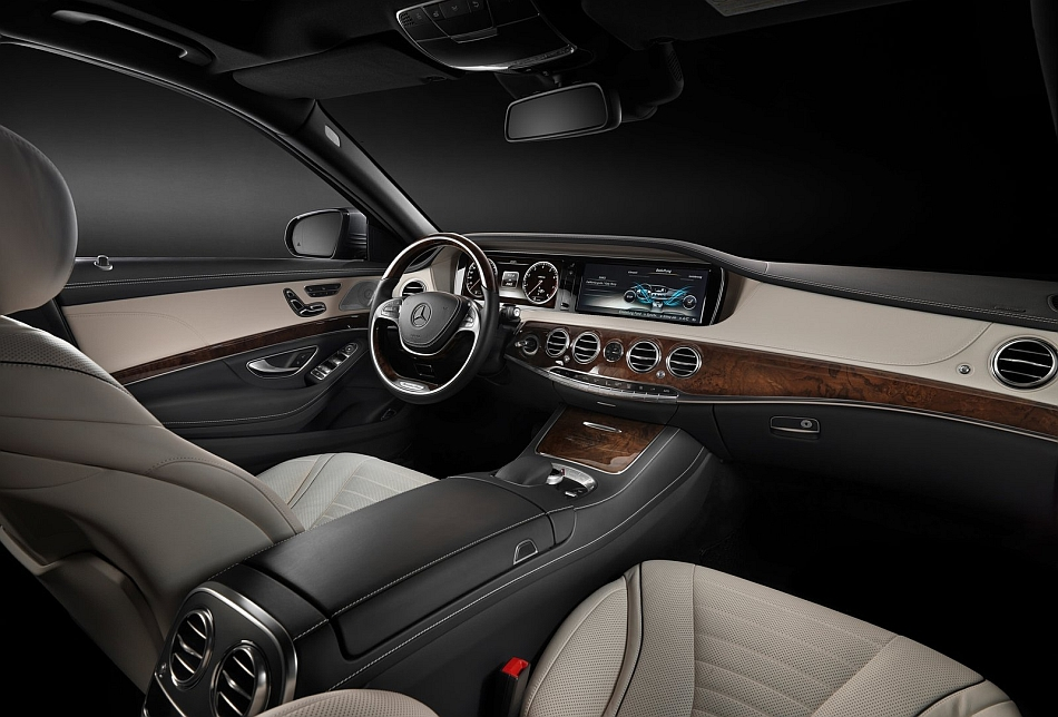 2014 mercedes benz s class front interior egmcartech for Interieur reinigen auto