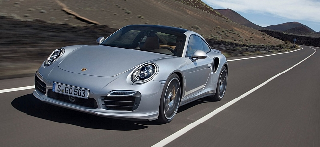2014 Porsche 911 Turbo S Banners