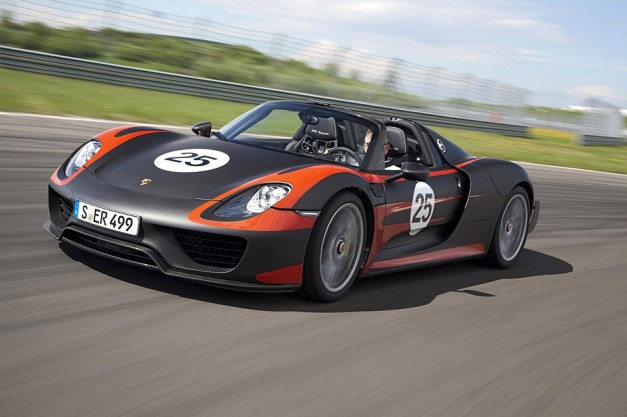 Porsche officially shares pics and details on the production 918 Spyder, due as a 2015 model
