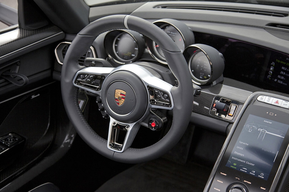 2015 Porsche 918 Spyder Production Steering Wheel