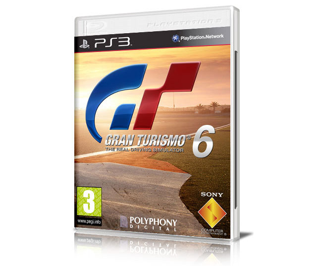 Gran Turismo 6 Rendered Box Art