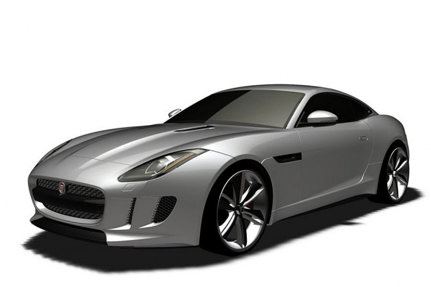 Photo Rendering: Is this the new Jaguar F-Type coupe in production form?