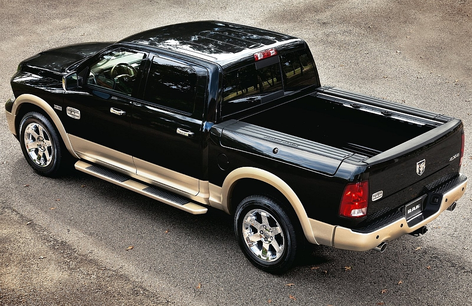 2012 Ram 1500 Laramie Longhorn Edition Rear 7-8 Left