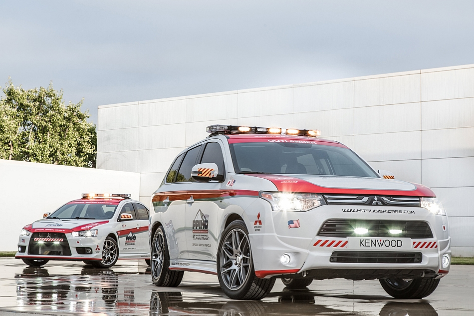 2013 Pikes Peak Safety Cars by Mitsubishi