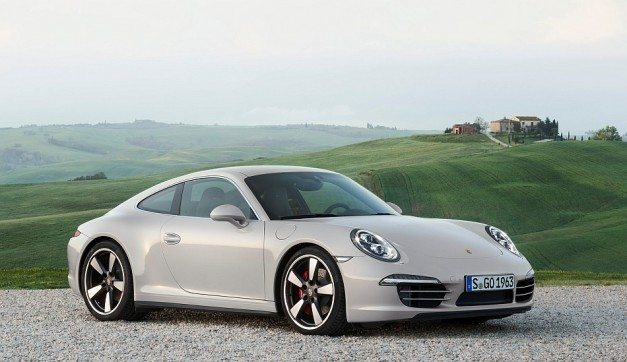 Porsche unveils the 2013 911 50th Anniversary Edition to celebrate the 911's 50 years