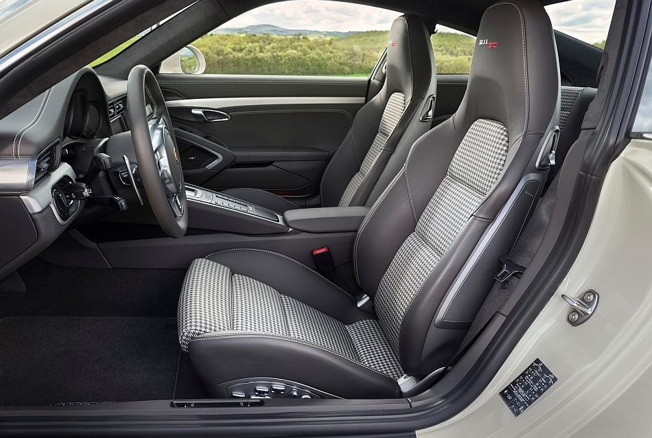2013 porsche 911 50th anniversary edition interior seats for Porsche 911 interieur