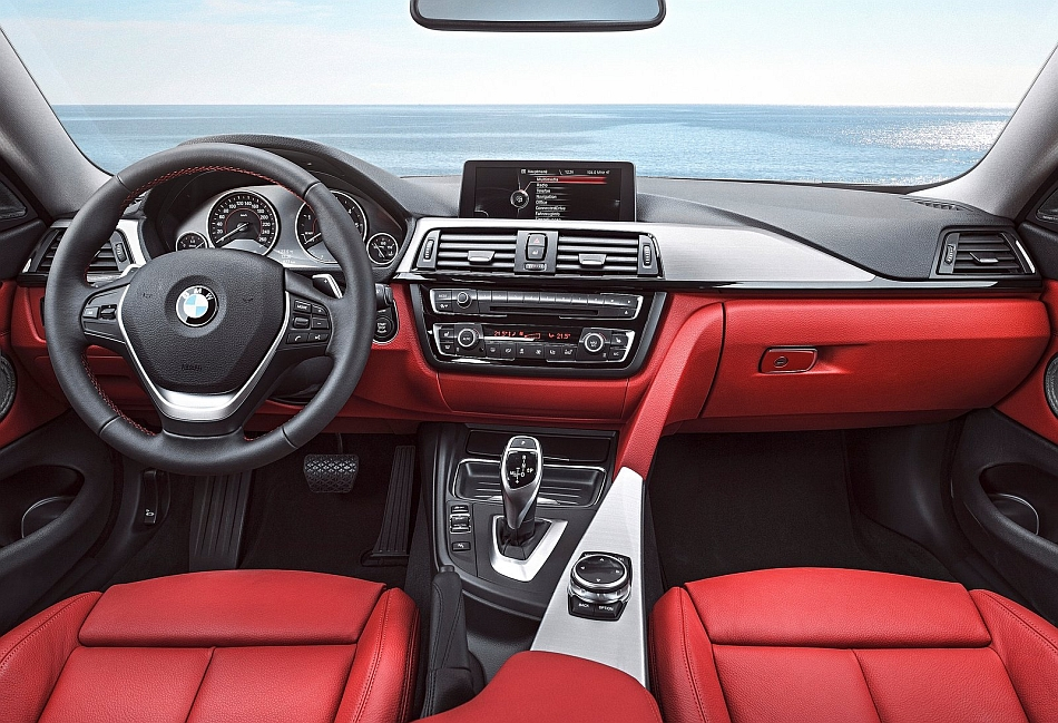 2014 BMW 4-Series Coupe Interior Dashboard