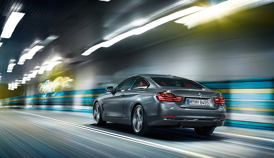 2014 bmw 4 series coupe rear 3 4 left cruising egmcartech. Cars Review. Best American Auto & Cars Review