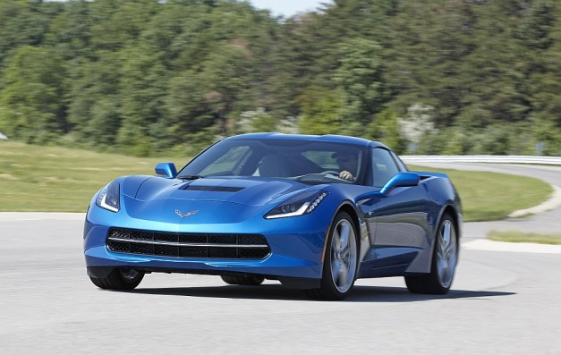 Chevrolet releases official performance figures for the 2014 Corvette Stingray coupe w/ Z51 Perfomance Package