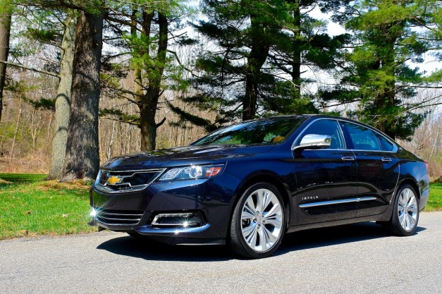 Review: The 2014 Chevrolet Impala is a more sophisticated, front-wheel driven four-door Camaro