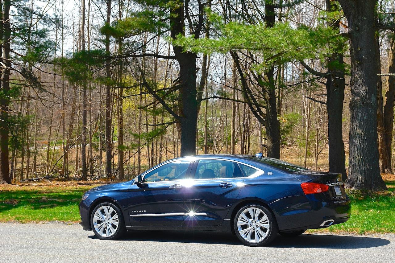 2014 chevrolet impala ltz rear 7 8 left egmcartech. Black Bedroom Furniture Sets. Home Design Ideas