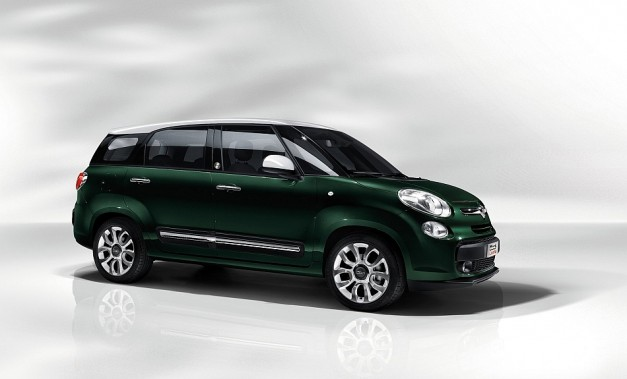 Fiat unveils 2014 500L Living for Europe, an even larger version of the elongated 500L