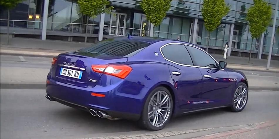 2014 Maserati Ghibli S Video