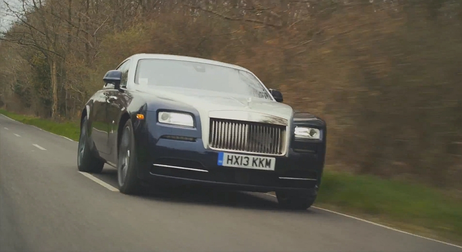 2014 Rolls-Royce Wraith Demo Video