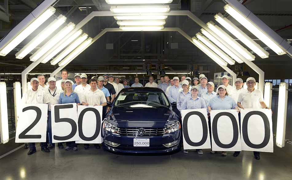250,000th Volkswagen Passat