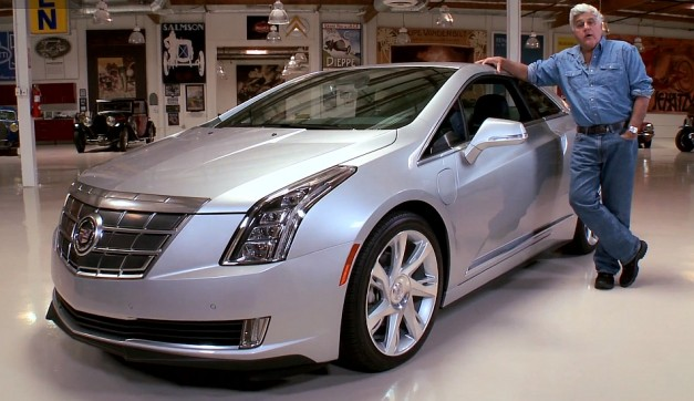Video: Watch Jay Leno do a feature on the all-new 2014 Cadillac ELR