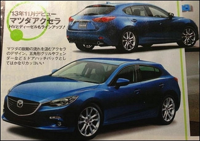 New Mazda3 Leak