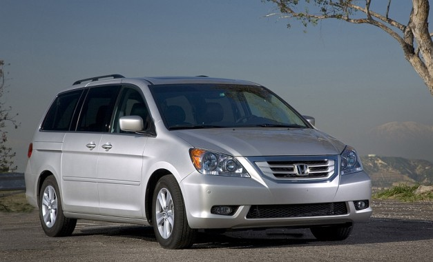 Report: NHTSA investigating 343,000 2007-2008 Honda Odyssey minivans over unintentional braking