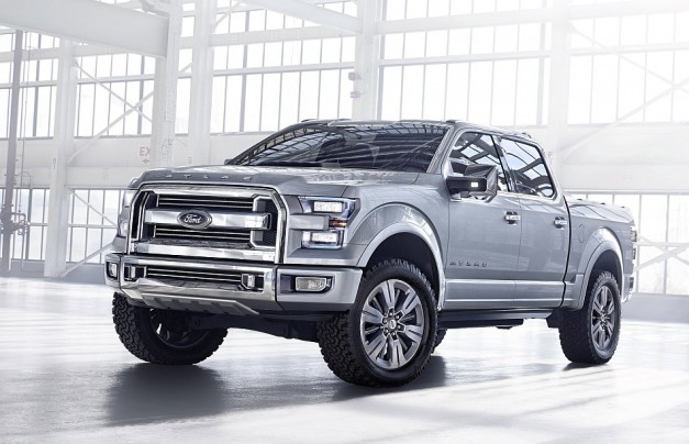 Report: Ford to ditch steel for all-aluminum construction for next gen F150?