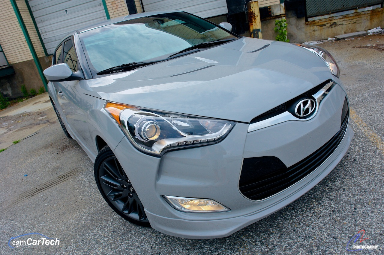 2013 hyundai veloster re mix edition front 3 4 right detail egmcartech. Black Bedroom Furniture Sets. Home Design Ideas