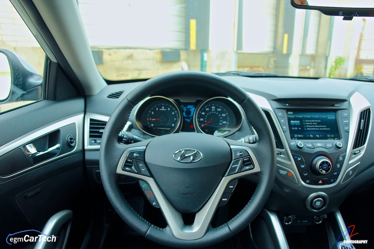 2013 Hyundai Veloster Re Mix Edition Interior Driver Seat