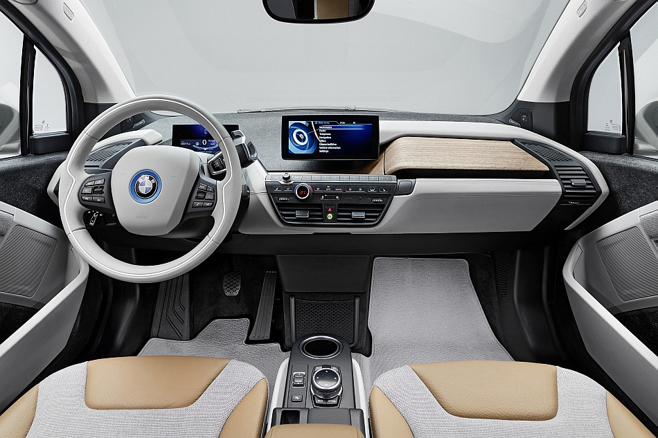 2014 bmw i3 interior front egmcartech. Black Bedroom Furniture Sets. Home Design Ideas