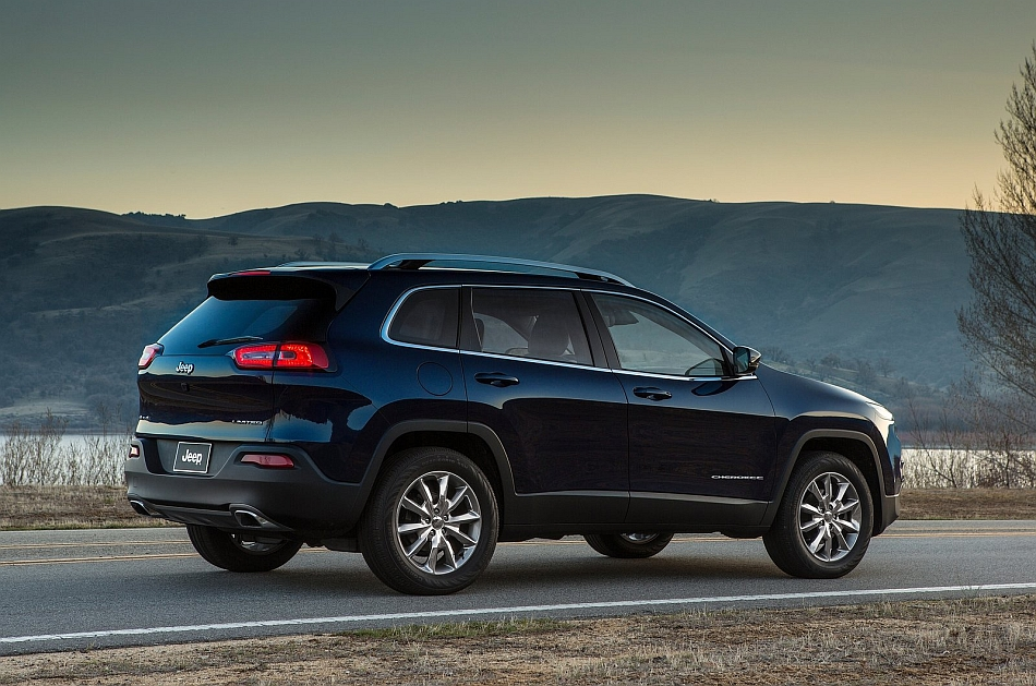 2014 Jeep Cherokee Rear 7-8 Right