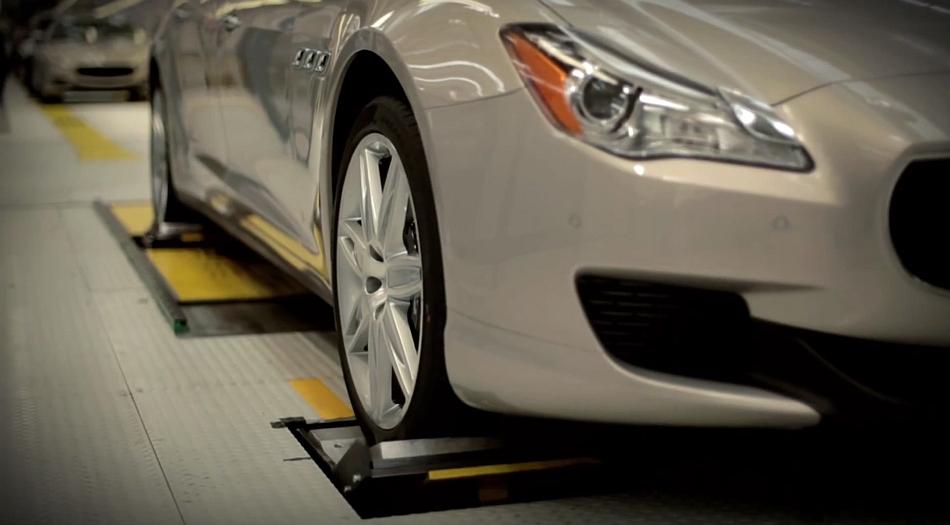 2014 Maserati Quattroporte Manufacturing Video