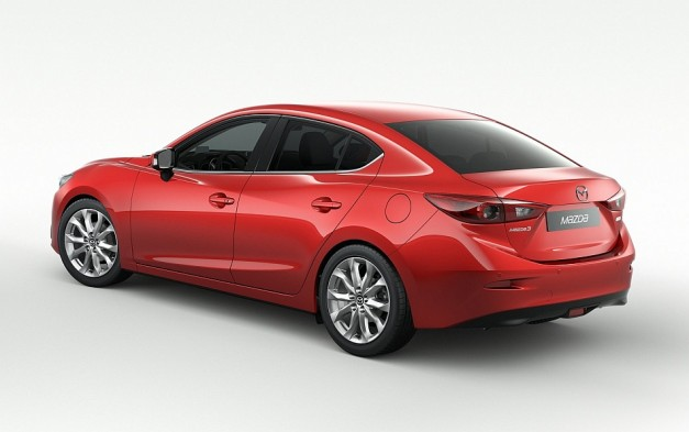 Mazda reveals 2014 Mazda3 sedan for the UK market, releases official