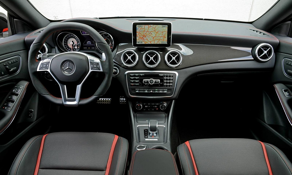 2014 Mercedes-Benz CLA 45 AMG Edition 1 Interior Front