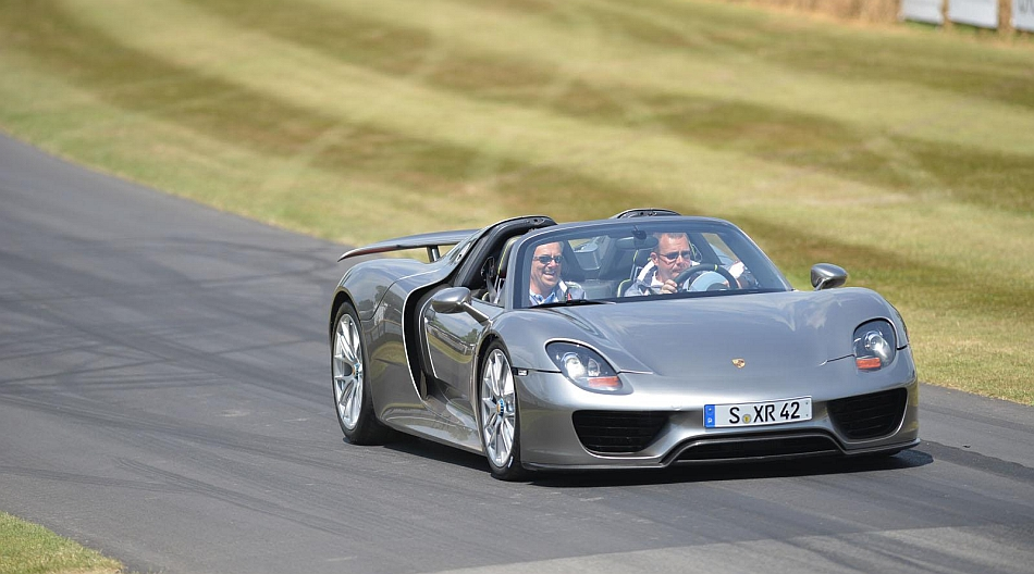 2014 Porsche 918 Spyder at Goodwood Festival of Speed