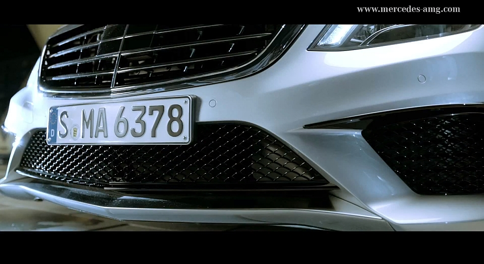 Mercedes-Benz S63 AMG Video Teaser