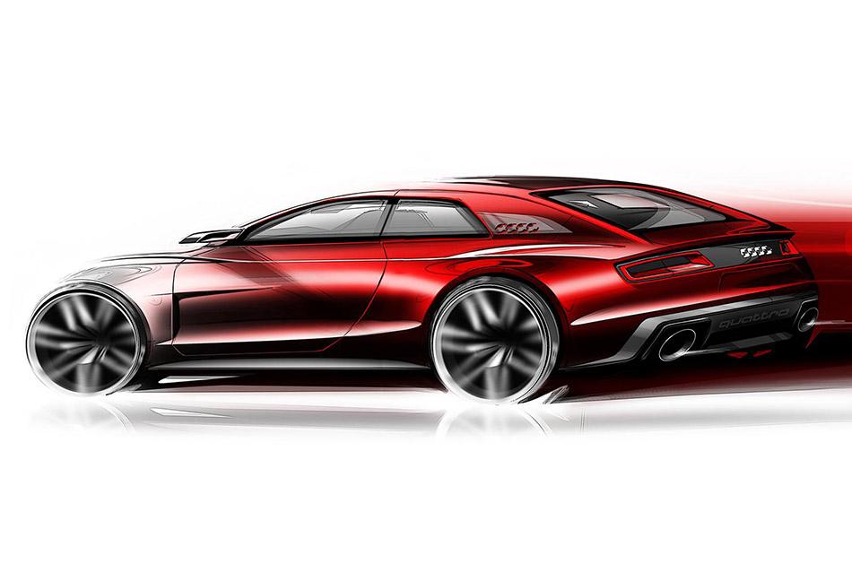2013 Audi Quattro Concept Design Sketches (8)