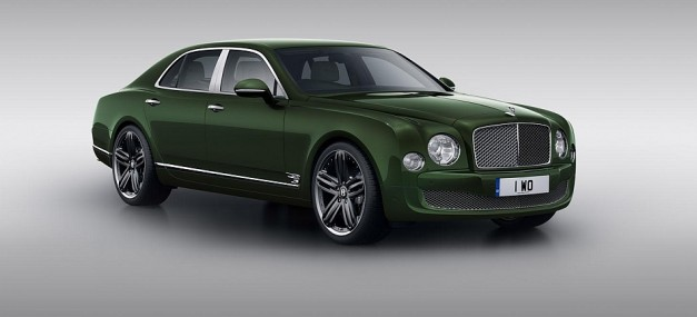 Bentley unveils a really green Mulsanne called the Le Mans Edition, destined for Pebble Beach