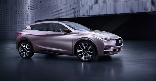 Infiniti confirms the reveal of the production Q30 Concept