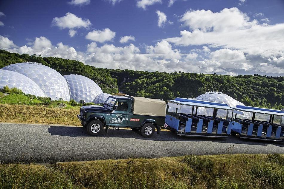 2013 Land Rover Defender EV Testing